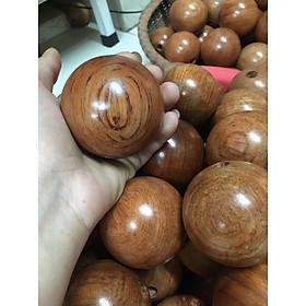 Vòng lắc eo bụng tràng hạt , Vòng lắc hạt gỗ giảm béo thon eo - Hình thật-6