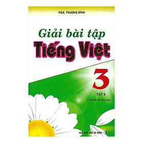 Giải bài tập Tiếng Việt 3 - Tập 2