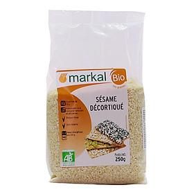 Hạt Mè hữu cơ tách vỏ Markal - 250g