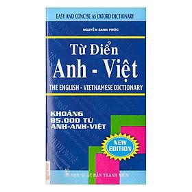 [Download Sách] Từ Điển Anh - Việt ( 85.000 Từ )