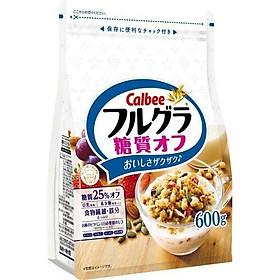 Ngũ cốc Calbee trắng dâu, nho, bí đỏ - Tặng túi zip 3 kẹo mật ong Senjaku