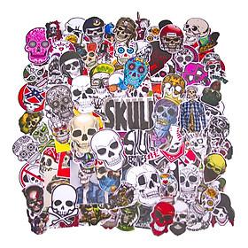 Set 100 Sticker - Skull