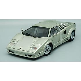 Xe Mô Hình Lamborghini Countach 25th Anniversary Edition 1:18 Autoart - 74536aa2 (Bạc)
