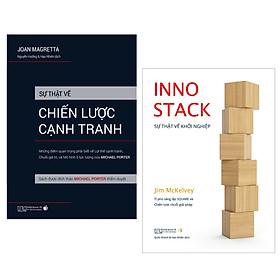 Combo Sự thật về chiến lược cạnh tranh + INNOSTACK - Sự thật về khởi nghiệp