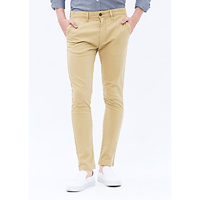 Quần Kaki Nam THE COSMO Garment - Dyed Chinos - Beige
