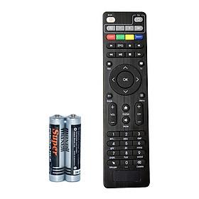 Remote Điều Khiển Cho Hộp TV Thông Minh FPT Play Box 2018 (Kèm Pin AAA Maxell)