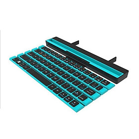 Fun Wireless Keyboard Foldable Bluetooth Connection Support for Mobile Phones Windows Mac Laptop Tablet