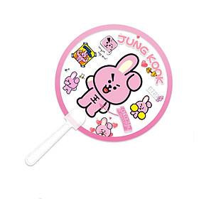 Quạt cầm tay Cooky BT21 BTS Jungkook