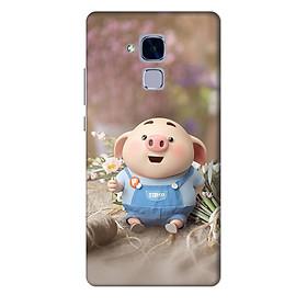 Hình đại diện sản phẩm Ốp lưng nhựa cứng nhám dành cho Huawei GR5 Mini in hình Heo Cỏ Cây
