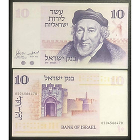 Tiền cổ Israel 10 lirot sưu tầm