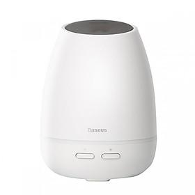 Máy phun sương, tạo ẩm, khuếch tán tinh dầu Mini Baseus Creamy-White Aroma (90ml, USB 5V, Ultrasonic Air Diffuser/ Humidifier Atomizer) - Hàng chính hãng