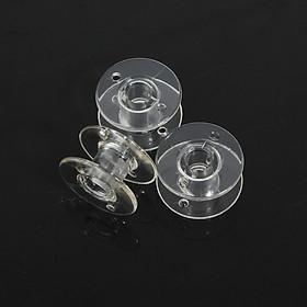 10/20/50pcs Clear Empty Bobbin Thread String Sewing Machine Plastic Empty Spool