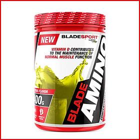 Thực phẩm bổ sung amino acid BLADE AMINO EDGE 400g – Hỗ trợ tăng năng lượng, phục hồi và phát triển cơ cho người tập thể hình và thể thao - mùi Citrus – Thương hiệu Châu Âu – Hàng chính hãng