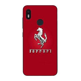 Ốp lưng dành cho điện thoại Vsmart Joy 1 in họa tiết Logo F E R R A R I