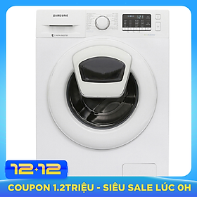 Máy giặt Samsung Inverter 9 kg WW90K52E0WW/SV - Chỉ giao HCM và Hà Nội