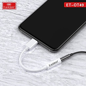 (TẶNG 01 CÁP SẠC EARLDOM 1M BẤT KỲ) khi mua COMBO Cáp Chuyển đổi  và Tai nghe Tai Nghe dành cho IPHONE - HÀNG EARLDOM CHÍNH HÃNG 100%