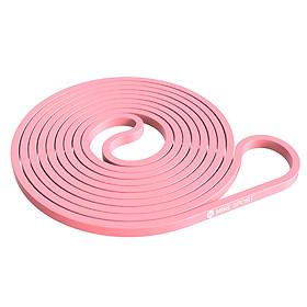 Mi Ke fitness resistance belt men and women training rally belt flat rubber band tension ring elastic band lacing belt MK8007-03 fruit green strength 35kg