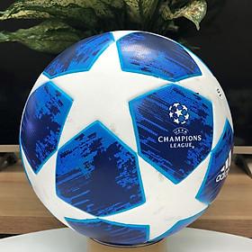 Quả bóng đá UEFA CHAMPIONS LEAGUE 2019 màu xanh size 5 bóng đúc
