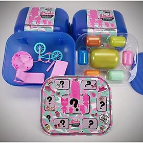 Hộp 7 trứng búp bê và phụ kiện bất ngờ phong cách LOL suprising doll - Tặng bộ nấu ăn và hoạt cảnh đi dã ngoại picnic