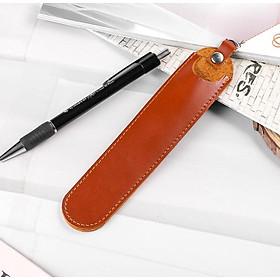 Túi đựng bút da thật ZN 07 (Đen - Nâu sáp - Vàng bò)