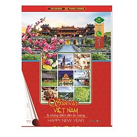 Lịch 52 tuần 2021 MS AH.22 - Sản Vật Việt Nam& Những Điểm Đến Ấn Tượng