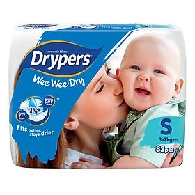 Tã Dán Drypers Wee Wee Dry Cực Đại S82 (82 Miếng)
