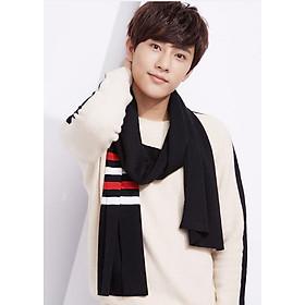 Khăn choàng Nam phong cách Hàn Quốc