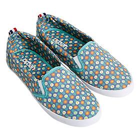 Giày Slip On Nữ Urban UL1605N - Hoa Xanh Chàm