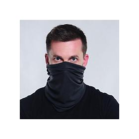 Khăn bịt mặt Alan Walker, khăn bịt mặt đa năng đen trơn