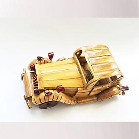 Mô Hình Xe Hơi (Mẫu-01)  Tre Vàng Handmade