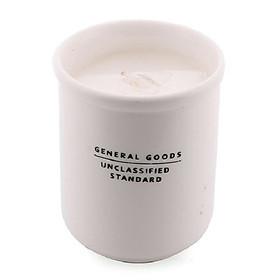 Nến thơm ly sứ trắng Miss Candle FtraMart (Trắng)