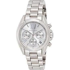 Michael Kors Women's Mini Bradshaw Silver-Tone Watch MK6174