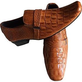 Giày  tây nam vàng  da bò cao cấp GT08
