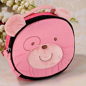 5 Patterns Cute Plush Zippered Insulated Kid Lunch Bag Carry Handbag Case Picnic Bag Waterproof
