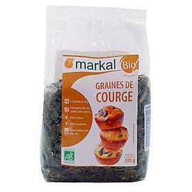 Hạt bí Hữu cơ đã tách vỏ MARKAL 500g