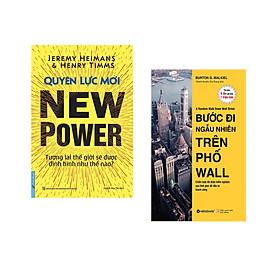 Combo 2 cuốn sách: Quyền Lực Mới - Tương lai TG sẽ được định hình như thế nào? + Bước Đi Ngẫu Nhiên Trên Phố Wall