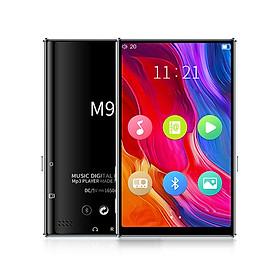 Máy Nghe Nhạc Mp4 xem video M9 4INCH, bộ nhớ 8GB, chức năng BLUETOOH, ghi âm, FM, vỏ hợp kim nhôm
