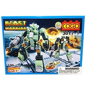 Mô Hình COGO Các Loại Robot 3017 - Mẫu 3