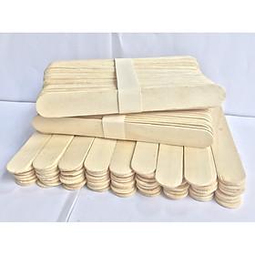 100 Que đè lưỡi gỗ tặng 50 que kem gỗ dùng làm đồ handmade dễ dàng thuận tiện cho các mô hình