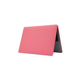 Vỏ bảo vệ chống xước không trong suốt màu sắc đơn giản thuần khiết cho Macbook Air 13.3inch A1932 - Màu dỏ đào
