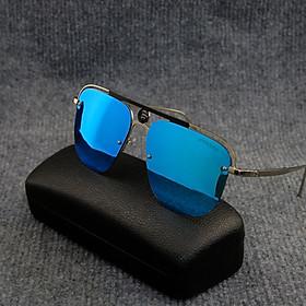 Kính mát thời trang nam nữ PAGINI 6555 - Thiết kế hiện đại, trẻ trung - Chống nắng, chống bụi, chống tia UV hiệu quả - Tặng hộp và khăn - KINH6555