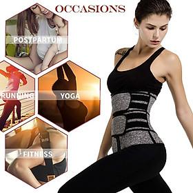 Đai nịt bụng thể thao nữ hỗ trợ giảm mỡ khi tập Gym 888