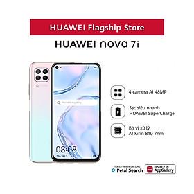 Điện thoại Huawei Nova 7i 8G/128G Sạc nhanh 40W - Hàng Phân Phối Chính Hãng