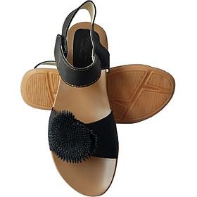 Giày Sandal Nữ BIGGBEN Da Bò Thật SDN63