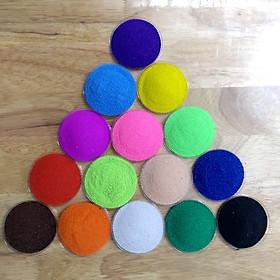 Combo 15 màu 100gr cát tô tranh cho bé