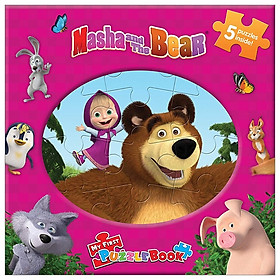 Masha & The Bear My First Puzzle Book