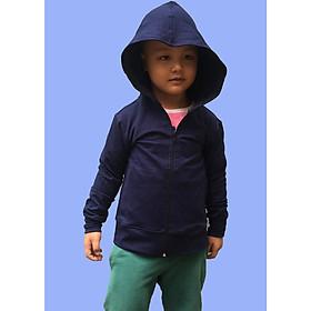 Áo khoác chống nắng GOKING, vải da cá dày 100% cotton thoáng mát, thấm hút mồ hôi, khử mùi, kháng khuẩn, chống tia UV dành cho nam nữ, trẻ em