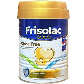 Sữa Frisolac Gold Lactose Free 400g
