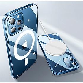 Ốp Lưng Case Magsafe Trong Suốt Dành Cho iPhone 12 mini / iPhone 12 / iPhone 12 Pro / iPhone 12 Promax