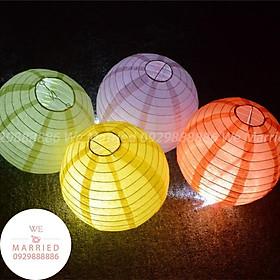 Đèn Lồng Vải 20cm